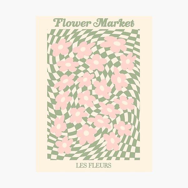 Flower Market Les Fleurs 2 Photographic Print
