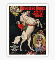 Vintage poster - Circus Sticker