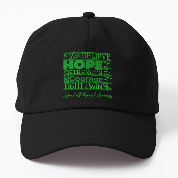Love Believe Hope Stem Cell Research Awareness Dad Hat