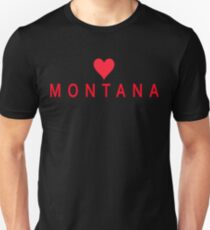 Montana with Heart Love T-Shirt