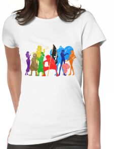 One Piece Crew Womens Fitted T-Shirt