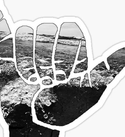 Beach Hand  Sticker
