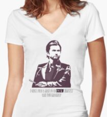 Doctor Kilgrave Women's Fitted V-Neck T-Shirt