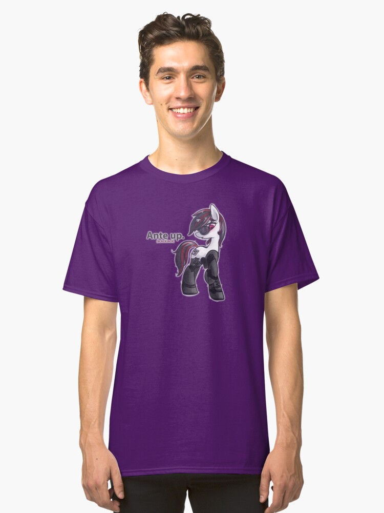 Ante Up Classic T-Shirt Front