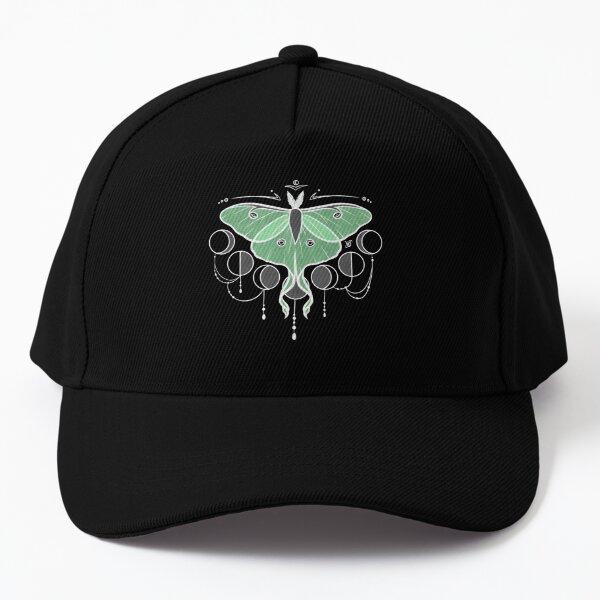 Midnight Luna Moth - Green Baseball Cap