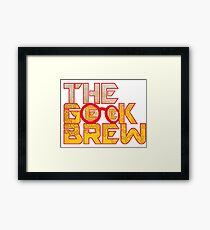 The Geek Brew Retro Logo Framed Print