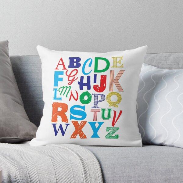 Nursery / Playroom Art Throw Pillow