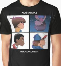 Stranger Things Nostalgiaz Graphic T-Shirt