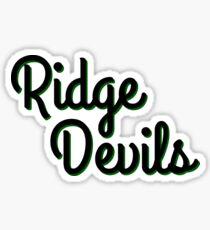 Ridge Devils Sticker