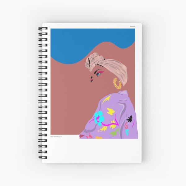 Celebrating Beauty. Spiral Notebook