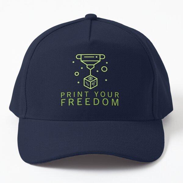 Print Freedom Baseball Cap
