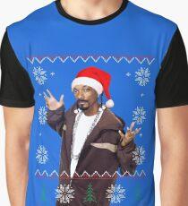 Snoop Christmas Graphic T-Shirt