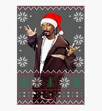Snoop Christmas Photographic Print