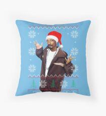 Snoop Christmas Throw Pillow