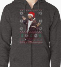 Snoop Christmas Zipped Hoodie