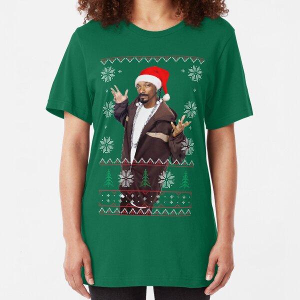 Snoop Christmas Slim Fit T-Shirt