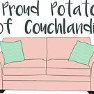 Proud Potato of Couchlandia  by CorrieJacobs