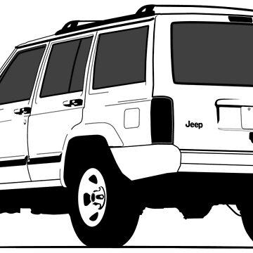 Jeep Cherokee XJ Sport by FMBDesigns