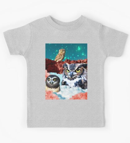 Kindly Owl Gods of the Red Mesa Kids Clothes