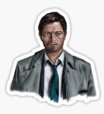 Castiel Sticker
