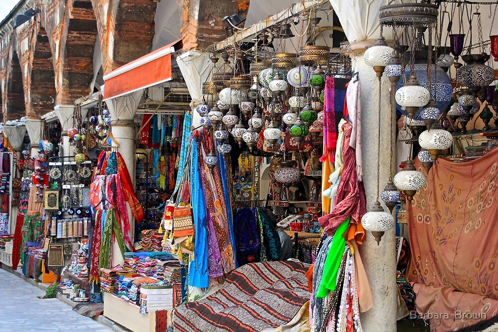 Shopping in Istanbul by Barbara  Brown