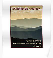 Skyline Drive, Shenandoah National Park, Virginia Poster