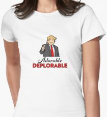 Adorable Deplorables Women's Fitted T-Shirt
