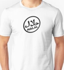 Halal Certified Logo Unisex T-Shirt