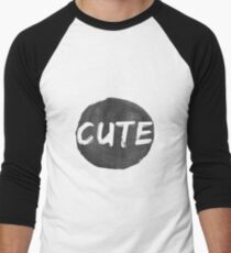 Cute Men's Baseball ¾ T-Shirt