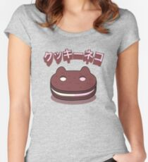 Steven Universe - Cookie Cat (Japanese) Women's Fitted Scoop T-Shirt