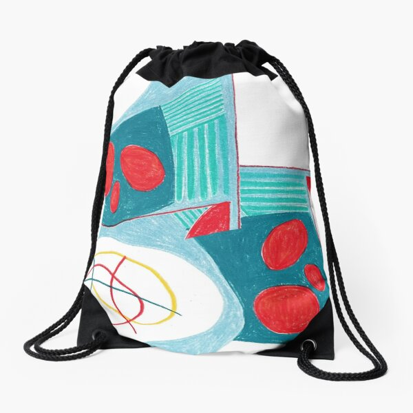 Paring Back Study No. 4 Drawstring Bag