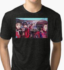 Shaolin's Fantastic Four Tri-blend T-Shirt
