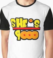 She's Over 9000 Math Equation Graphic T-Shirt