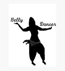 Pro Belly Dancer 2 Photographic Print