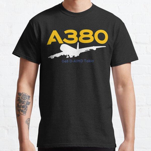 Airbus A380 048 D-AIMD (White) Classic T-Shirt