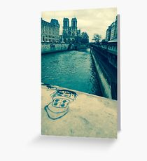 La Seine Greeting Card
