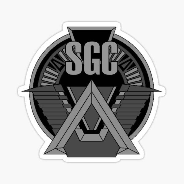 Insigne de commandement Stargate SGC. Sticker