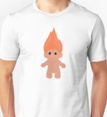 Orange Troll Unisex T-Shirt