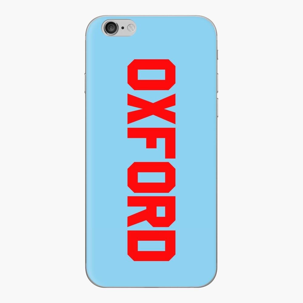 Oxford iPhone Klebefolie