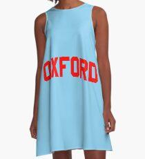 Oxford A-Line Dress
