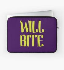 Will Bite Laptop Sleeve