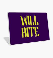 Will Bite Laptop Skin