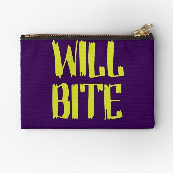 Will Bite Zipper Pouch