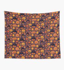 Fall Pumpkaboo Pumpkin Patch Wall Tapestry