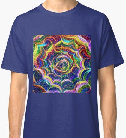 Spider web #DeepDream B Classic T-Shirt