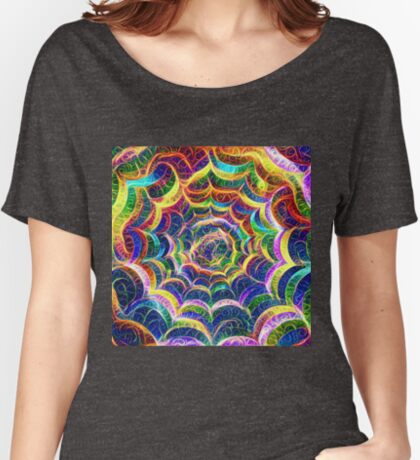 Spider web #DeepDream B Relaxed Fit T-Shirt