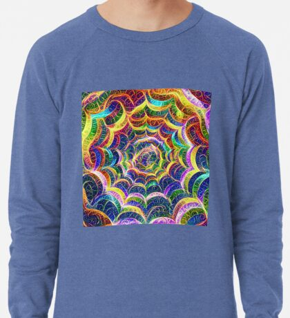 Spider web #DeepDream B Lightweight Sweatshirt