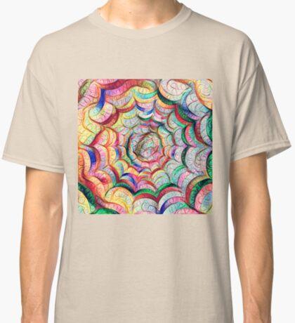 Spider web #DeepDream C Classic T-Shirt