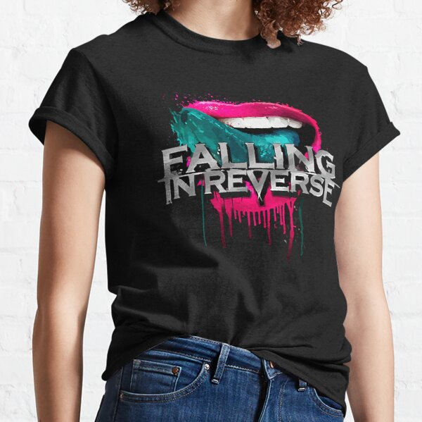 nangeng-falling-in-reverse-yamene Fitted V-Neck Classic T-Shirt