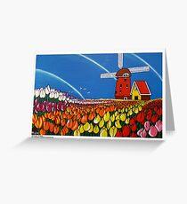 TulipTime,Netherlands. Greeting Card